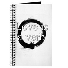 Love is a verb. Journal