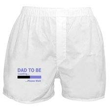 DAD LOADING PLEASE WAIT FUNNY Boxer Shorts