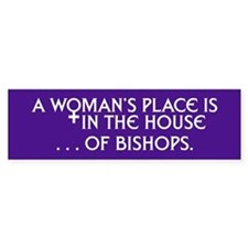 HOUSE OF BISHOPS Bumper Bumper Sticker