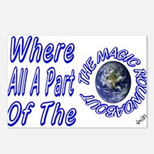 where all part of the magic r Postcards (Package o