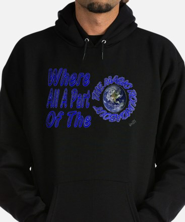 where all part of the magic r Hoodie (dark)