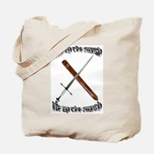 Live like a warrior Tote Bag