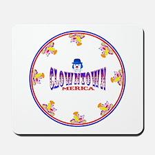 Clowntown mousepad