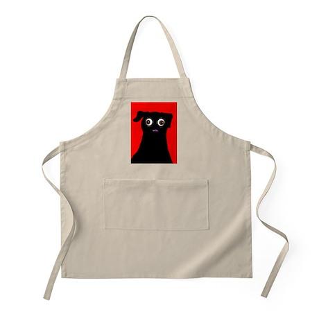 Red Pug BBQ Apron