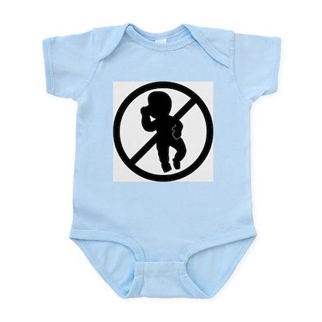 The AntiBaby Infant Creeper