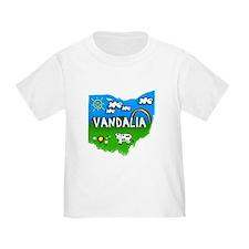 Vandalia, Ohio. Kid Themed T