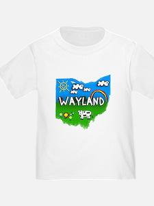 Wayland, Ohio. Kid Themed T