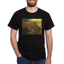 Van Gogh The Red Vineyard T-Shirt