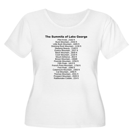 Summits of LG Women's Plus Size Scoop Neck T-Shirt