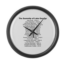 Summits of LG Large Wall Clock