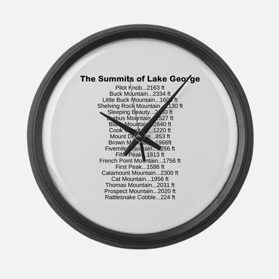 Summits of LG Large Wall Clock