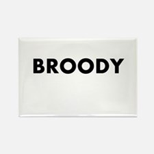 Broody Rectangle Magnet