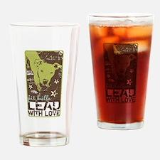 Funny Bad rap Drinking Glass