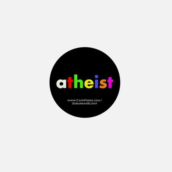 """""""Atheist"""" Mini Button"""