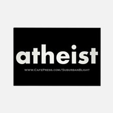 """Atheist"" Rectangle Magnet"