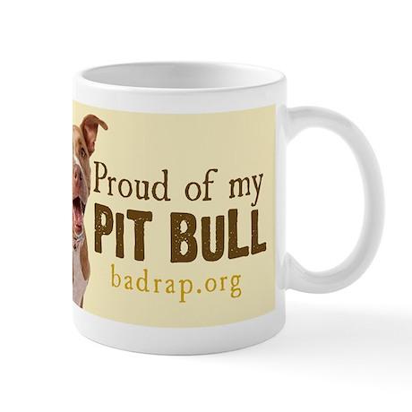 Proud of My Pit Bull Mug