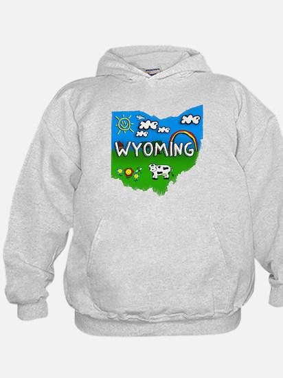 Wyoming, Ohio. Kid Themed Hoody