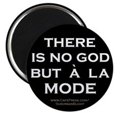 """There Is No God"" Magnet"