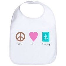Peace, Love, Mah-Jong Bib