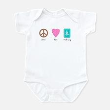 Peace, Love, Mah-Jong Infant Creeper