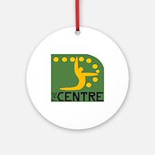 Centre Logo Ornament (Round)