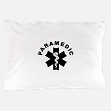 Paramedic Star Of Life Pillow Case