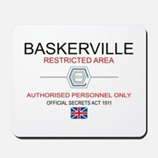 Hounds of Baskerville Mousepad