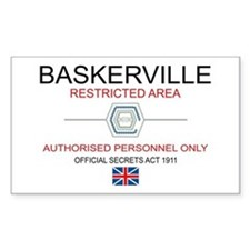 Hounds of Baskerville Decal
