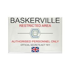Hounds of Baskerville Rectangle Magnet