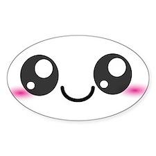 Kawaii Cute Smiley Face Decal