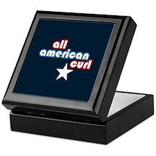 All American Curl Keepsake Box