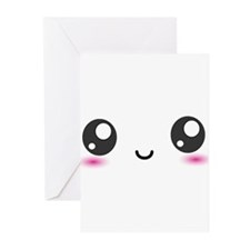 Japanese Anime Smiley Greeting Cards (Pk of 10)