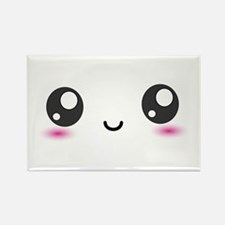 Japanese Anime Smiley Rectangle Magnet