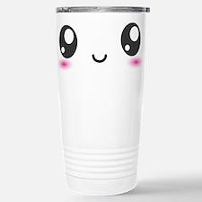 Japanese Anime Smiley Stainless Steel Travel Mug