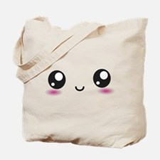 Japanese Anime Smiley Tote Bag
