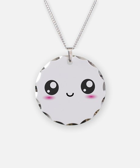 Japanese Anime Smiley Necklace