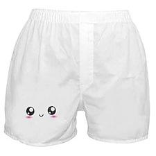 Japanese Anime Smiley Boxer Shorts