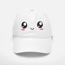 Japanese Anime Smiley Baseball Baseball Cap