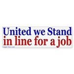 United We Stand Bumper Sticker