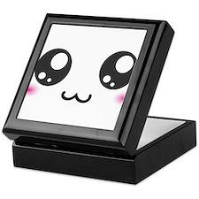Japanese Emoticon Emoji Smile Keepsake Box