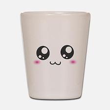 Japanese Emoticon Emoji Smile Shot Glass