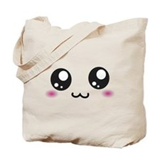 Japanese Emoticon Emoji Smile Tote Bag