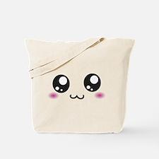 Japanese Emoticon Emoji Smile Tote Bag