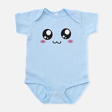 Japanese Emoticon Emoji Smile Infant Bodysuit
