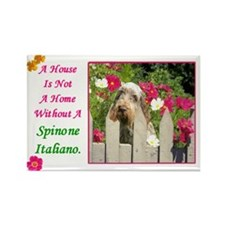 Cute Spinone Rectangle Magnet (100 pack)