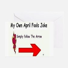 April Fools Joke Greeting Card