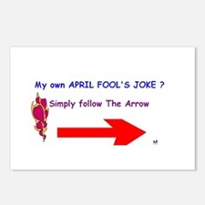 April Fools Joke Postcards (Package of 8)