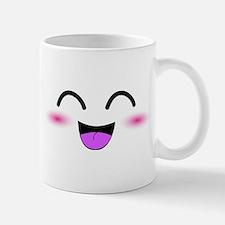 Laughing Kawaii Smiley Mug