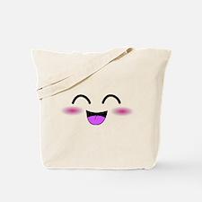 Laughing Kawaii Smiley Tote Bag