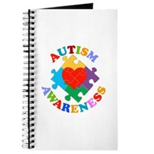 Autism Awareness Heart Journal